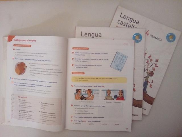 LIBROS DE LENGUA 4° PRIMARIA SANTILLANA - foto 6
