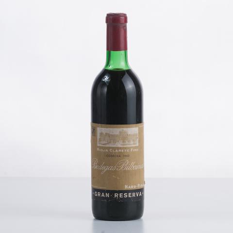 Vino Tinto De Colección Rioja Clarete