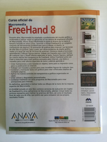 MACROMEDIA FREEHAND 8 INCLUYE CD-ROM - foto 2