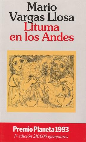 LIBRO LITUMA EN LOS ANDES,  VARGAS LLOSA - foto 1