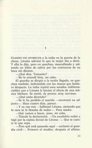 LIBRO LITUMA EN LOS ANDES,  VARGAS LLOSA - foto 3