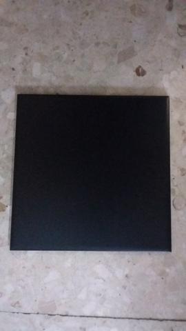 Azulejo Negro Brillo 15X15