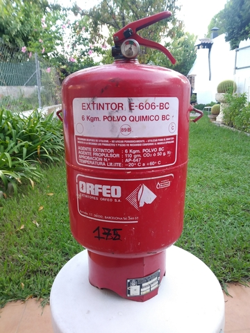 Extintor Automatico 6 Kg