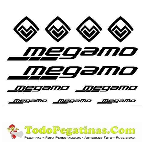 Pegatina Para Bicicleta Megamo