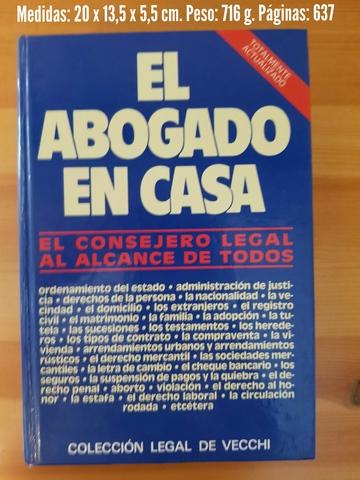 LIBRO EL ABOGADO EN CASA - foto 1