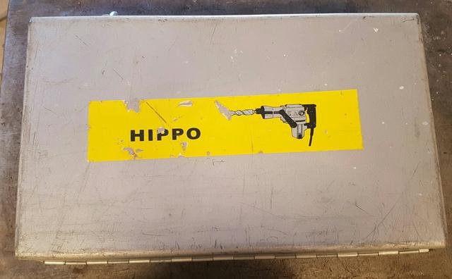 Maleta Chapa Taladro Hippo