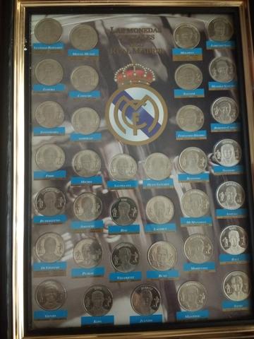 Monedas De Los Jugadores Del Madrid