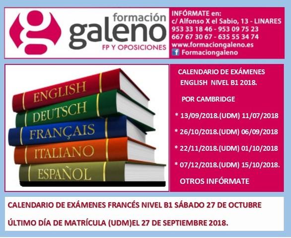 Calendario Ujaen.Mil Anuncios Com Curso Intensivo Ingles Segunda Mano Y Anuncios