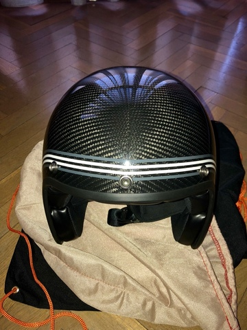 CASCO YAMAHA FASTER SONS CARBONO - foto 1