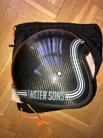 CASCO YAMAHA FASTER SONS CARBONO - foto 3