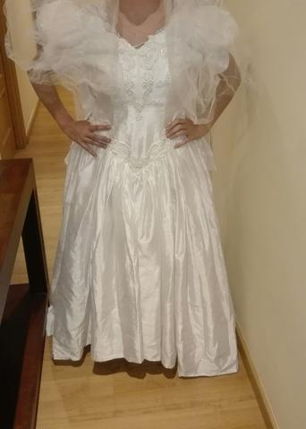 Vestido Novia Años 70 80