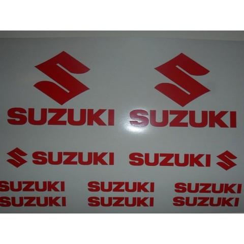 Pegatina Moto Suzuki Casco Vinilos