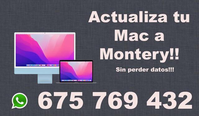 ACTUALIZA TU MAC!!! - foto 1