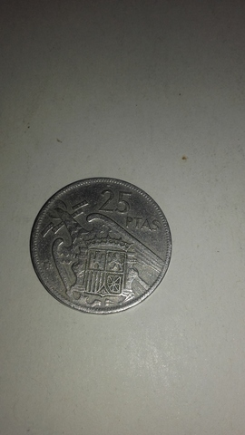Vendo Moneda De 25Pts.De Franco