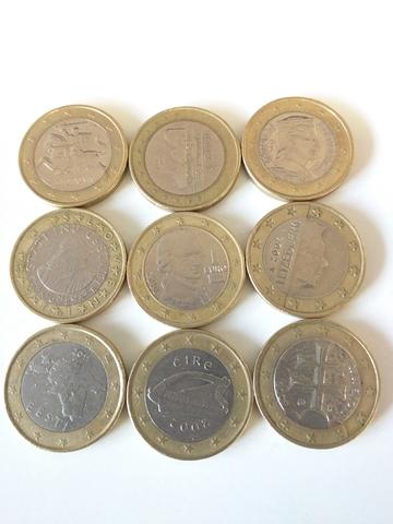 Monedas 1 Euro