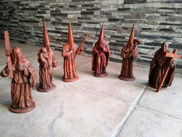 Colección 6 Figuras De Nazarenos