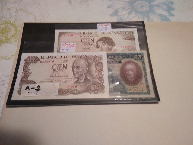 A-2++ Billetes Españoles++