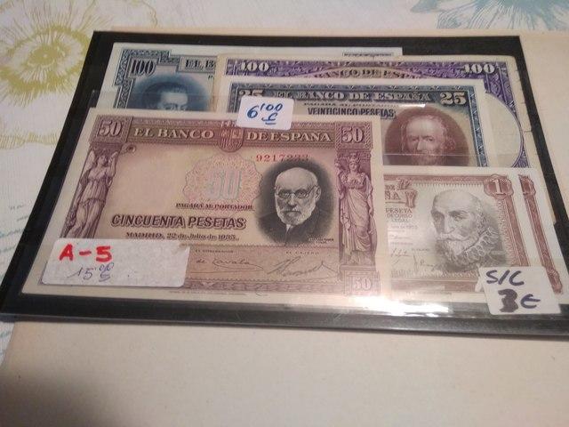 A-5++Billetes Españoles++