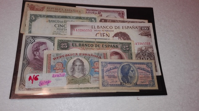 A-6++Billetes Españoles++