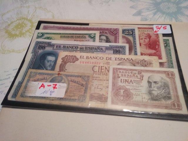 A-7++Billetes Españoles++