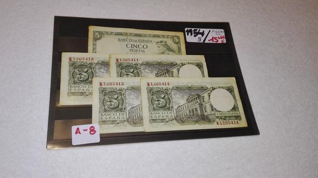 A-8++ Billetes Españoles Seguidos++