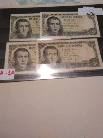 A-10++Billetes Españoles++