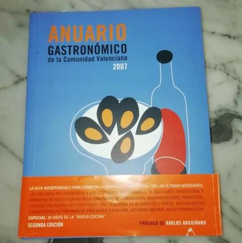 Libro Gastronomía Valenciana
