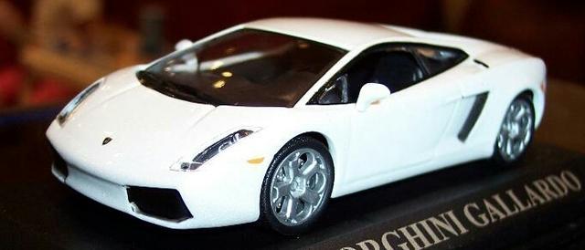 Lamborghini Gallardo Blanco Escala 1:43