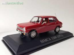 Simca 1200 Ixo 1971 Altaya Ixo 1:43