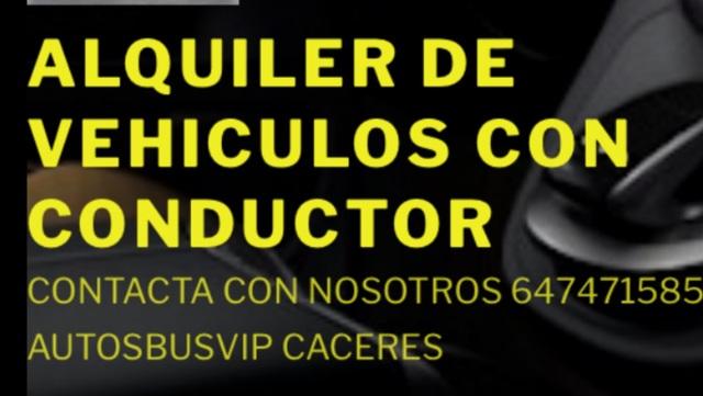 ALQUILER DE VEHÍCULOS CON CONDUCTOR VTC - foto 1