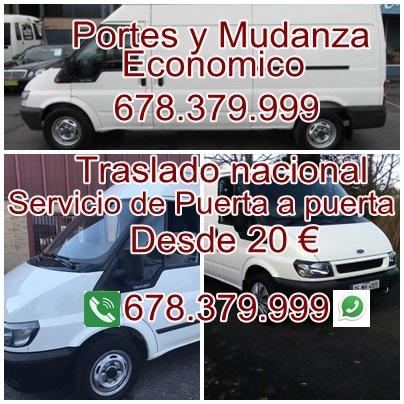 PORTES Y MUDANZA ECONMICOS MADRID - foto 3