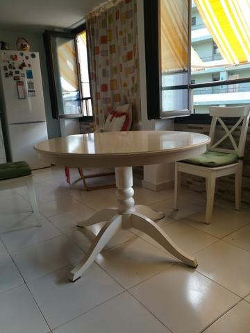 Anuncios Mil com Ikea Redonda Y Segunda Anuncios Mano Mesa OX8nN0PZkw