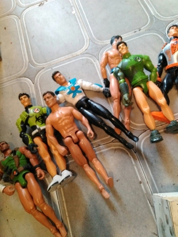 Lote De 7 Muñecos Hasbro