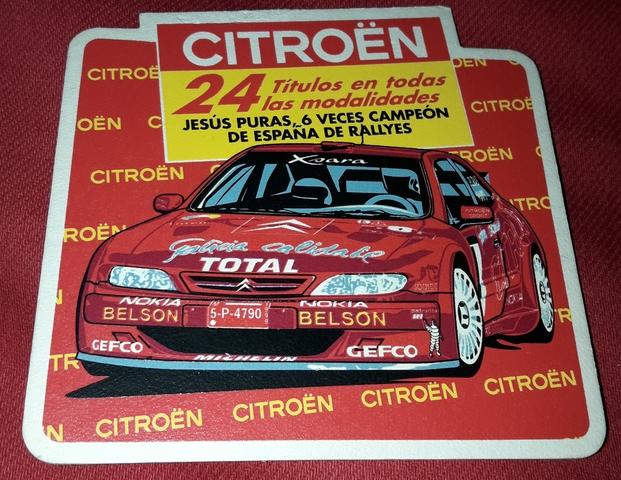 Posavaso De Rallye Citroen