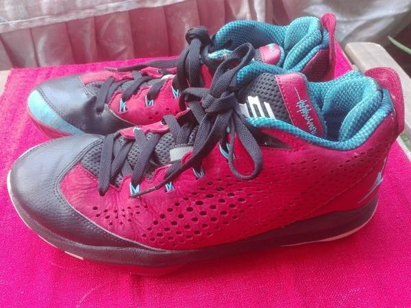 Nike Air Jordan Cp3. Vii Clippers Gym Red