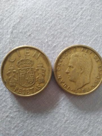 Vendo Monedas De 100 Ptas