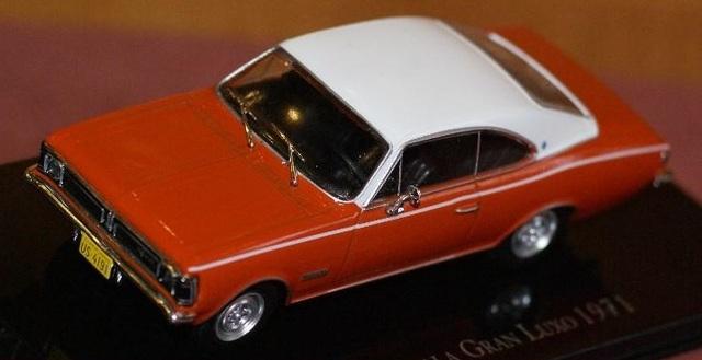 Chevrolet Opala Gran Luxo 1971 Escala 1: