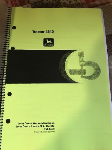 John Deere 6800 técnica Manual De Reparación
