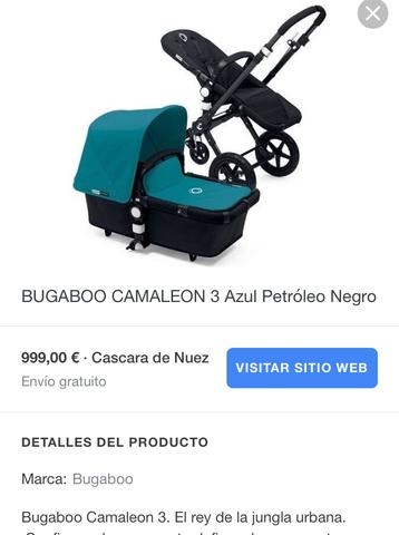 COCHECITO BUGABOO CAMALEÓN 3 - foto 6