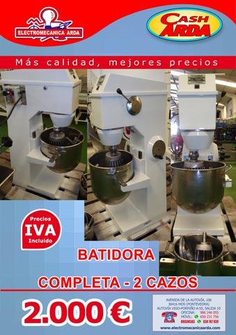 !!BATIDORA COMPLETA 2 CAZOS !!! - foto 1