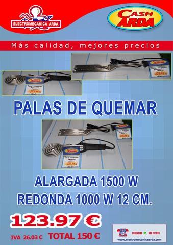 !!!PALAS DE QUEMAR VARIOS MODELOS!!!! - foto 2