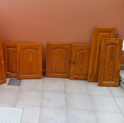 6 Puertas De Cocina De Madera