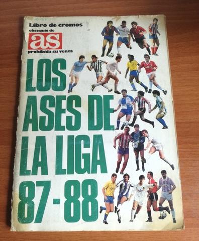 Album De Cromos Ases De La Liga 1987-88