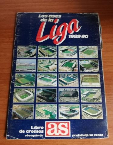 Album De Cromos Ases De La Liga 1989-90
