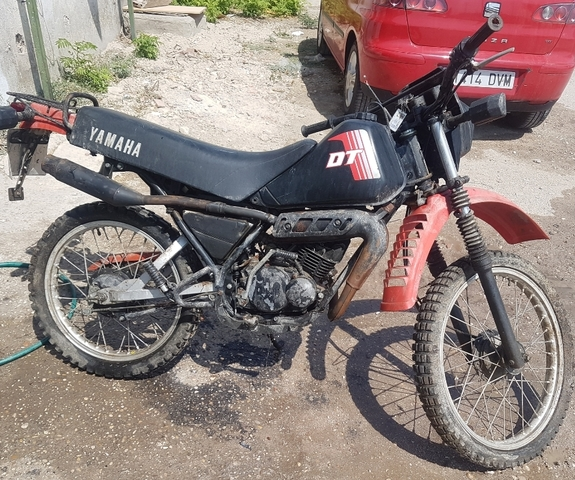 YAMAHA DT 50 1990 50 CC PAIR MIRRORS