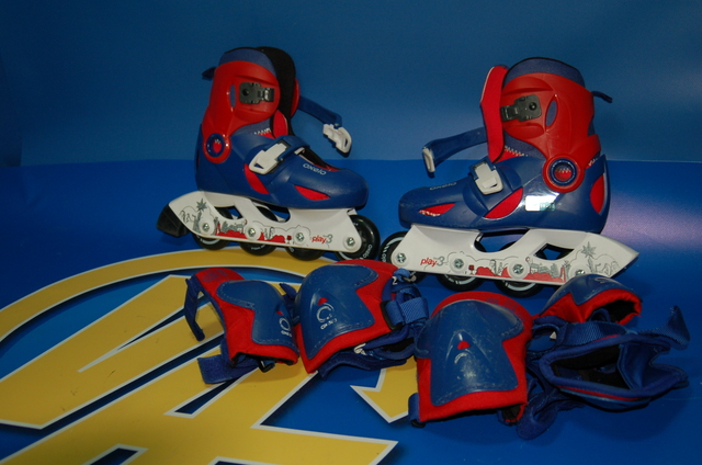 Patines Oxelo 30-32 + Protectores