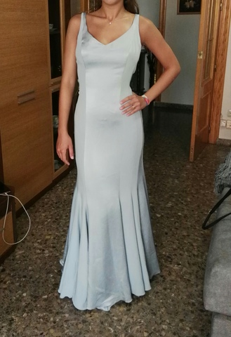 Mil Anuncios Fiesta Plata T Vestido Gris com Novia 4042 dCxeBo