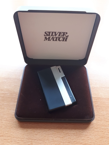 Mechero Silver Match