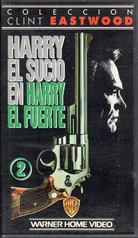 HARRY EL SUCIO.  4 PELICULAS VHS - foto 1
