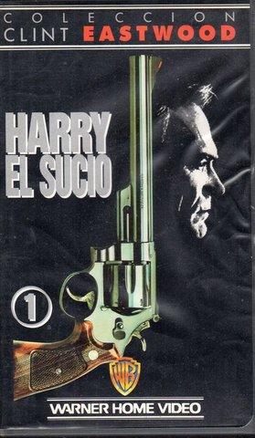 HARRY EL SUCIO.  4 PELICULAS VHS - foto 2